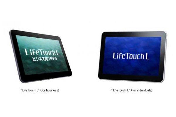 Tabletowo.pl NEC przedstawia dwa tablety Life Touch L z Androidem 4.0 ICS Nowości