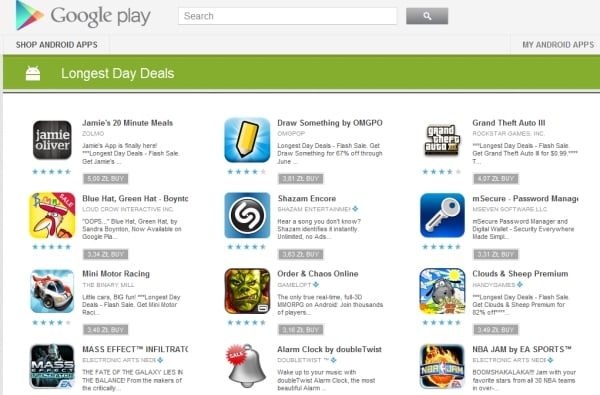 longest day deals google play