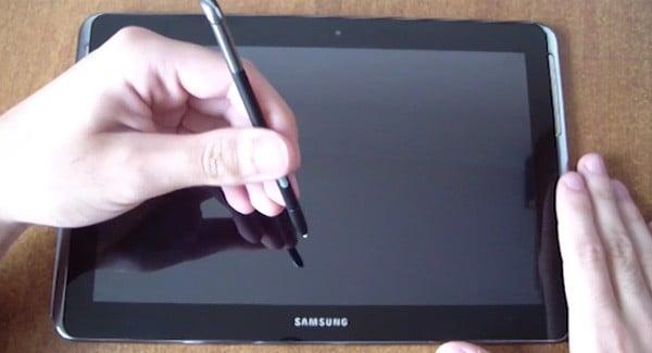 Tabletowo.pl Samsung Galaxy Note 10.1 z czterema rdzeniami przed kamerą Nowości Samsung