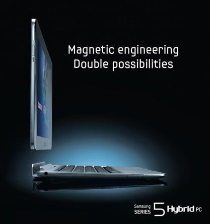 Tabletowo.pl Samsung Series 5 Hybrid PC - transformer z Windows 8 Nowości Samsung