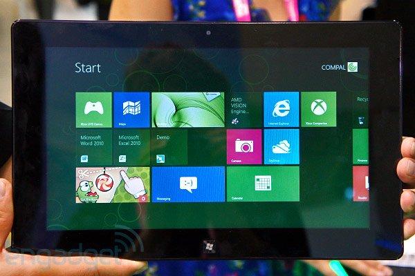 Tabletowo.pl Oto pierwszy tablet z procesorem AMD i systemem Windows 8 Nowości
