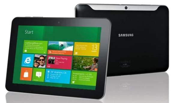 samsung galaxy tab windows 8 rt