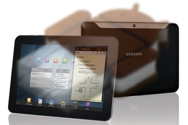 Samsung aktualizuje tablet Galaxy Tab 10.1 do Androida 4.0