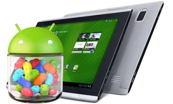Tabletowo.pl Tablety Acera otrzymają aktualizację do Androida 4.1 Jelly Bean Acer