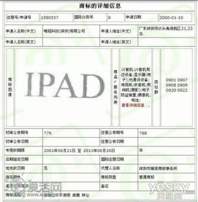 """Tabletowo.pl Apple zapłaciło Proview 60 milionów dolarów za nazwę """"iPad"""" Apple"""