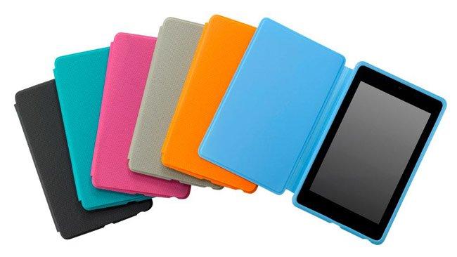 Asus kusi kolorowymi etui dla tabletu Google Nexus 7 55