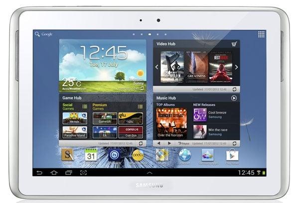 Tabletowo.pl Samsung Galaxy Note 10.1 jest cieńszy i łatwiejszy w naprawie niż nowy iPad Nowości Samsung