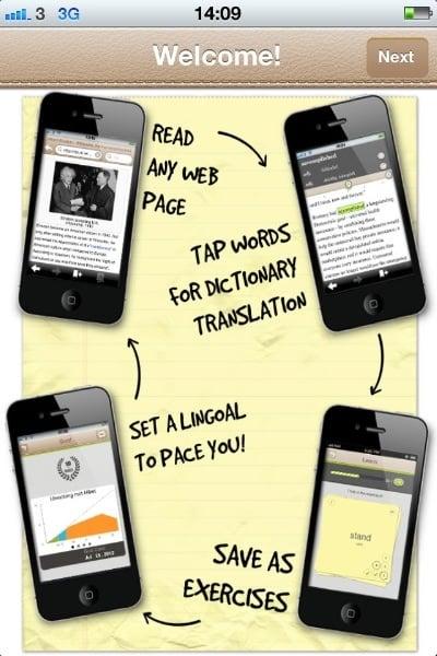Tabletowo.pl Lingoal - przeglądarka internetowa, dzięki której nauczysz się języków obcych Aplikacje Nowości