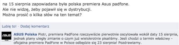 Tabletowo.pl Asus Padfone w Polsce ostatecznie 23. sierpnia Asus Nowości