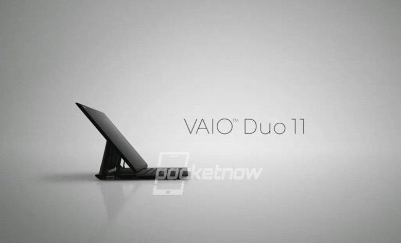 Tabletowo.pl Nadchodzi Sony VAIO Duo 11 z Windows 8 Nowości Plotki / Przecieki