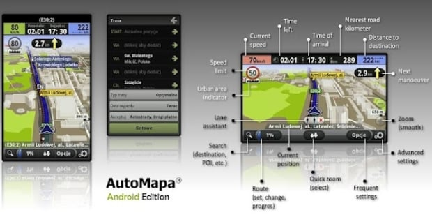 automapa android
