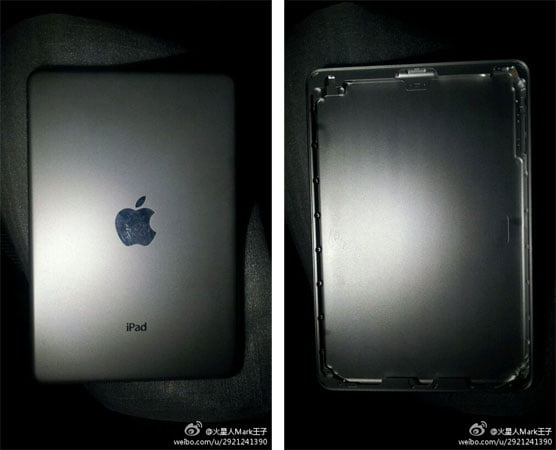 Tak może wyglądać tylny panel 7-calowego iPada mini 24