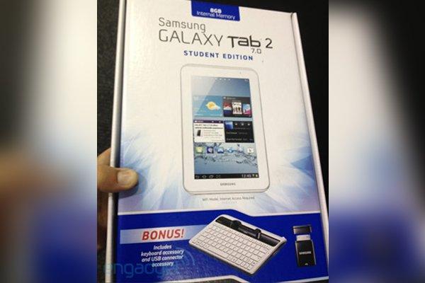 Tabletowo.pl Samsung Galaxy Tab 2 7.0 Student Edition - gratka dla uczniów czy konkurencja dla Nexus 7? Nowości Samsung