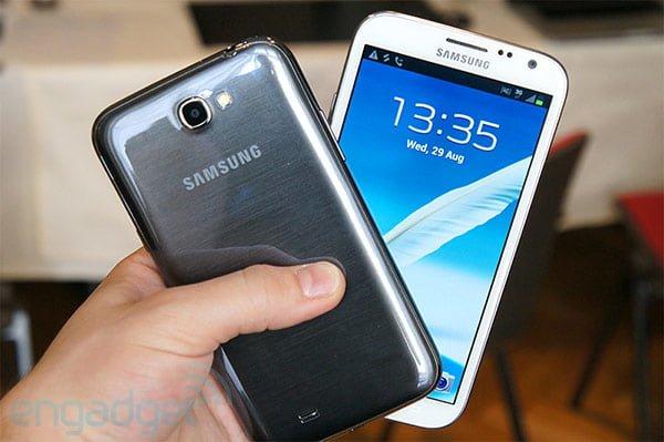 Samsung prezentuje Galaxy Note 2 z 5,5-calowym ekranem i Androidem 4.1 JB