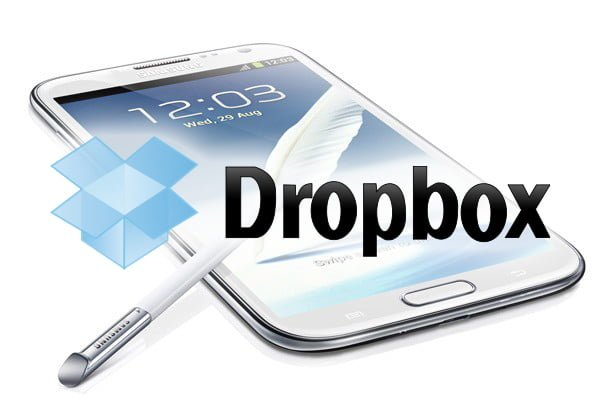 Tabletowo.pl 50GB na Dropboksie za darmo dla posiadaczy Samsunga Galaxy Note 2 Aplikacje Ciekawostki Samsung