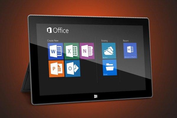 Tabletowo.pl Okrojony Office 2013 RT dla tabletów z Windows RT Nowości Plotki / Przecieki