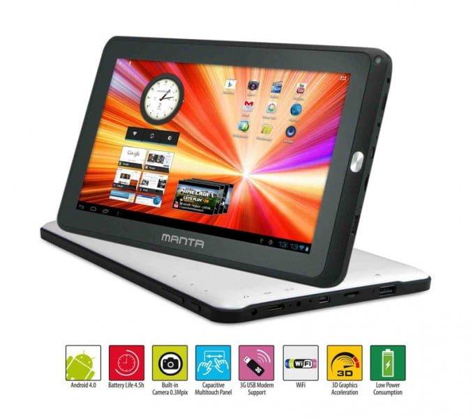 Tabletowo.pl Manta przedstawia 10,1-calowy tablet PowerTab MID06N za 599 złotych Nowości