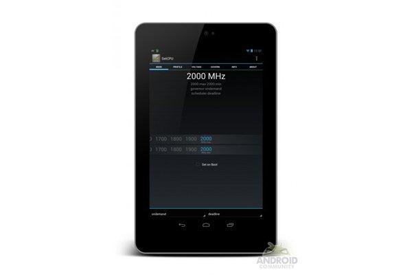 Tabletowo.pl Google Nexus 7 podkręcony do 2GHz Asus Ciekawostki