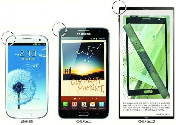 Tabletowo.pl Samsung Galaxy Note 2 z Androidem 4.1.1 Jelly Bean i 5,5-calowym ekranem HD 720p? Plotki / Przecieki Samsung