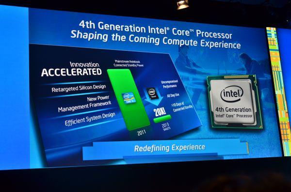 Tabletowo.pl 10-watowe procesory Intel Haswell w połowie 2013 roku. Co nowego? Nowości