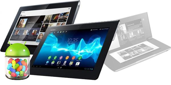 sony tablet android jelly bean