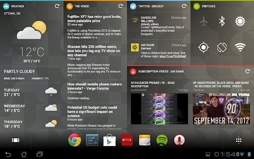 Chameleon Launcher for Tablets v1.0