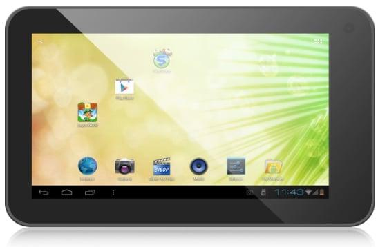 Tabletowo.pl 7-calowy Eken B70 z procesorem 1,2GHz i Androidem 4.0 ICS kosztuje tylko 99 dolarów Chińskie Nowości
