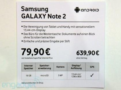 Tabletowo.pl Samsung Galaxy Note 2 z usługą S-Cloud i ceną 639 euro? (wideo) Nowości Plotki / Przecieki Samsung