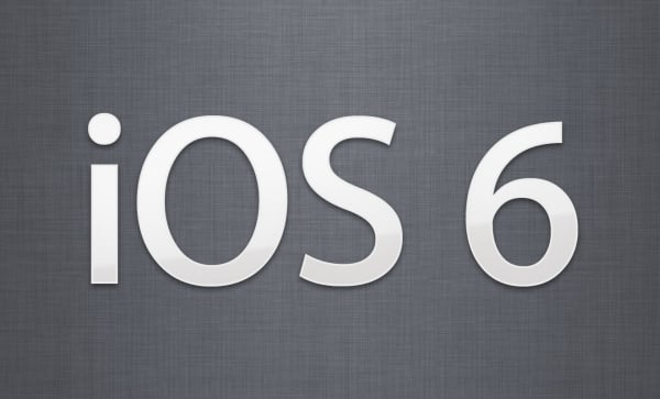 ios 6 apple