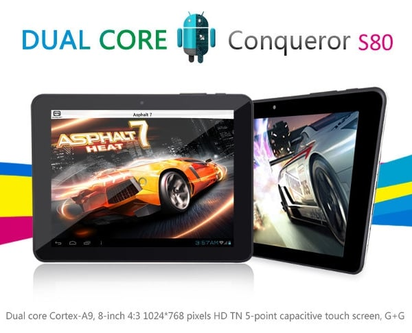 tablet jxd s80