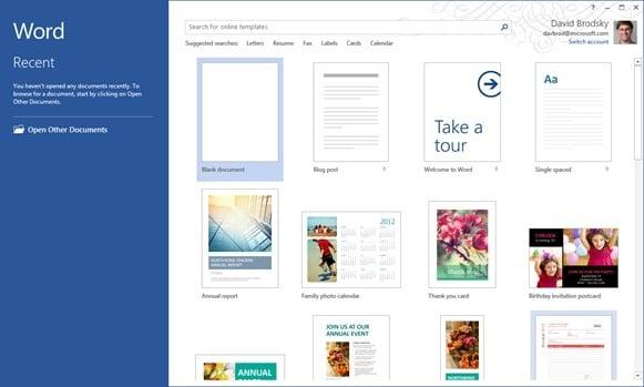 Tabletowo.pl Office dla Windows RT początkowo w wersji preview Nowości