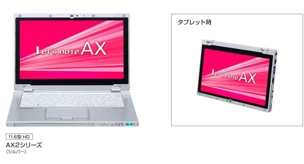 Let's Note AX2