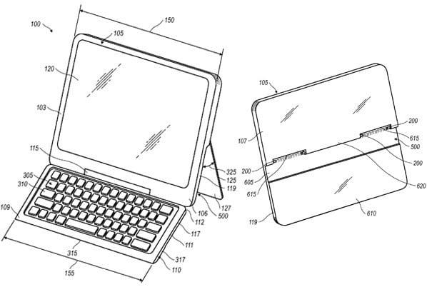 tablet RIM z chowaną klawiaturą