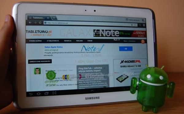 Recenzja tabletu Samsung Galaxy Note 10.1