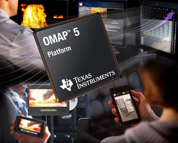 Tabletowo.pl Dwurdzeniowy OMAP 5 ostatnim mobilnym układem Texas Instruments Nowości