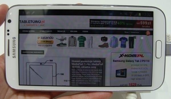 Tabletowo.pl Samsung Galaxy Note 2 oficjalnie w Polsce Nowości
