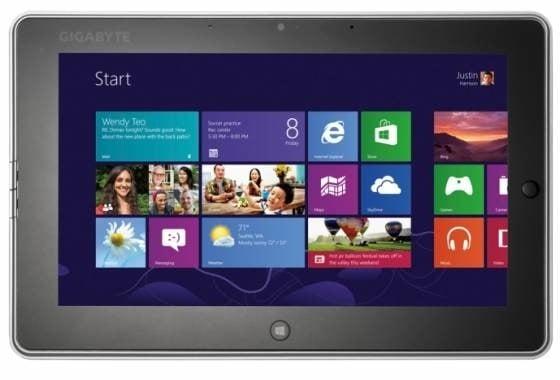 Tabletowo.pl Gigabyte S1082 z Windows 8 i opcjonalną stacją z napędem optycznym Nowości