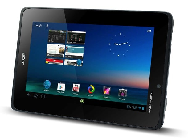Tabletowo.pl Acer Iconia Tab A110 z Tegrą 3 i Androidem 4.1, microSD i HDMI wyceniony na 230 dolarów Acer Nowości