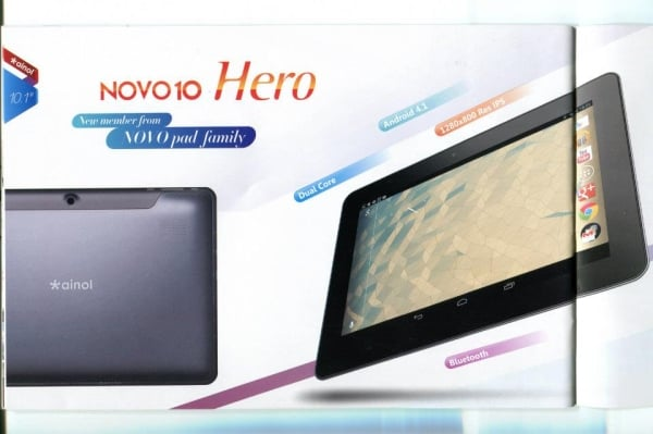 tablet ainol novo 10 hero