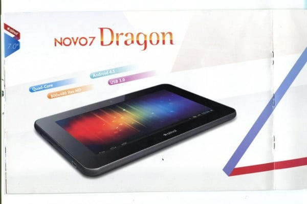 tablet ainol novo 7 dragon