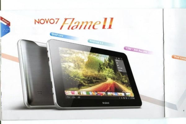 tablet ainol novo 7 flame II