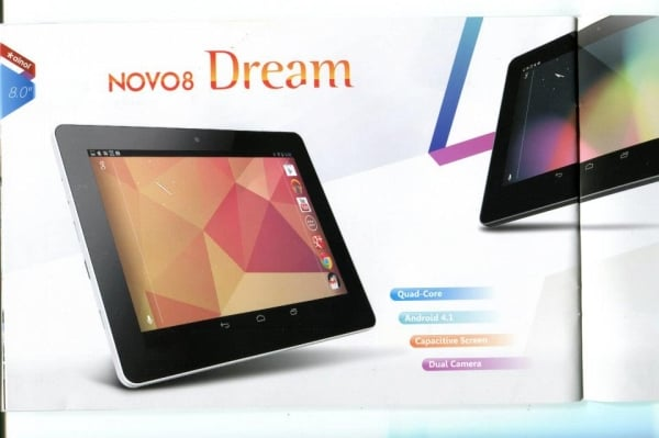 tablet ainol novo 8 dream