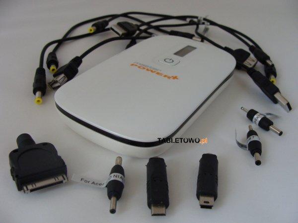 Tabletowo.pl Test zewnętrznego akumulatora MasterPower+ 8000mAh Nowości Recenzje