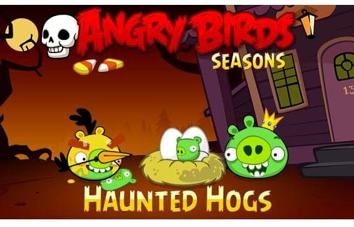 Tabletowo.pl Angry Birds Seasons z 30 nowymi planszami z racji Halloween Aplikacje Nowości