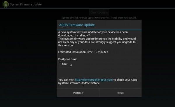 asus transformer pad infinity 700 aktualizacja