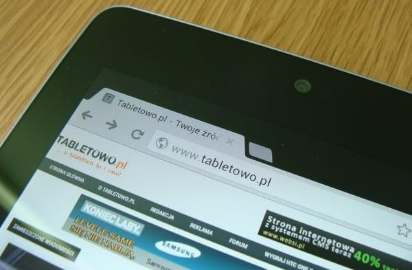Recenzja Google Nexus 7