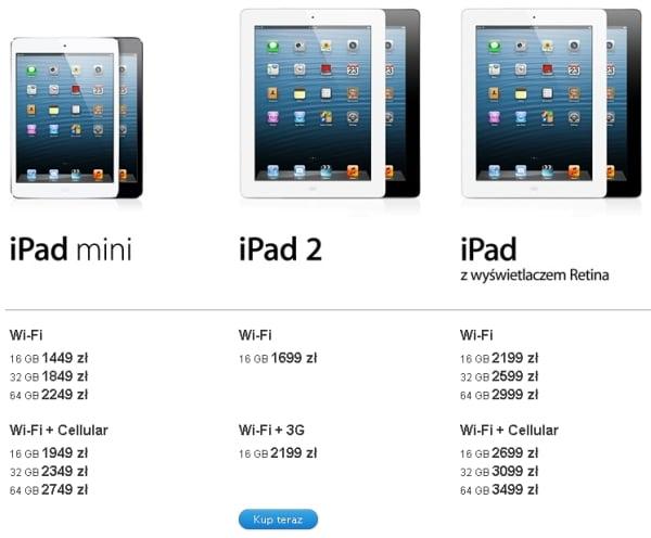 Tabletowo.pl Apple iPad mini - polskie ceny Apple Nowości