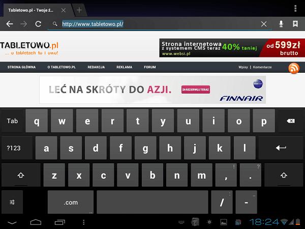 Tabletowo.pl Recenzja tabletu JXD S80 Chińskie Recenzje