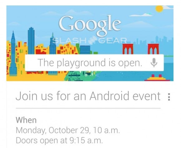 google 29 października 2012