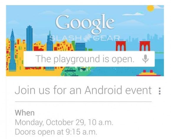 Tabletowo.pl Konferencja Google przełożona, Nexus 10 na (bardzo krótkim) wideo Nowości